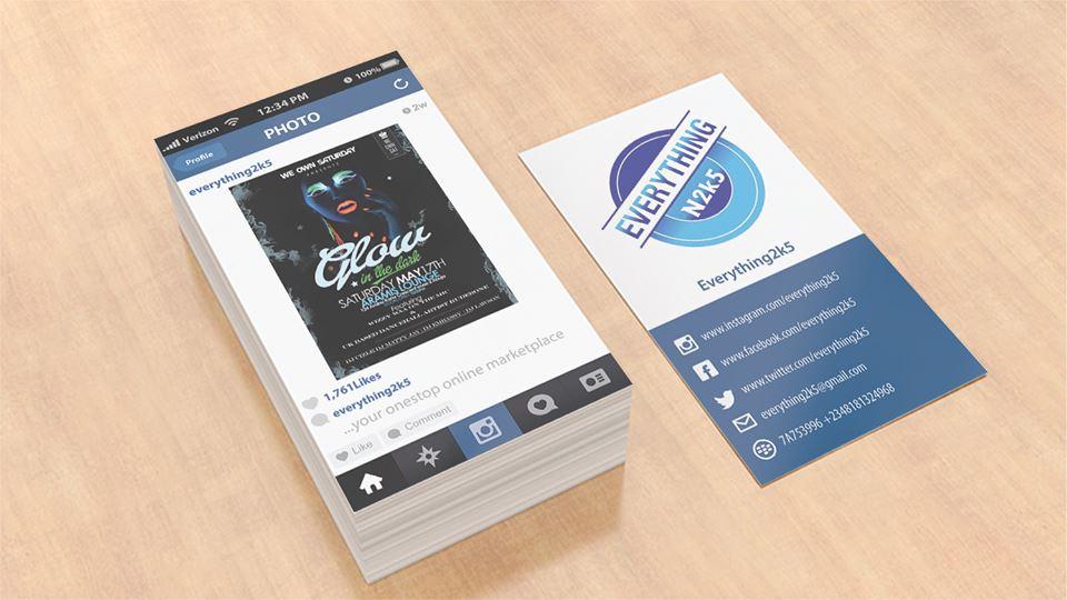 Business card design and print Aberdeen
