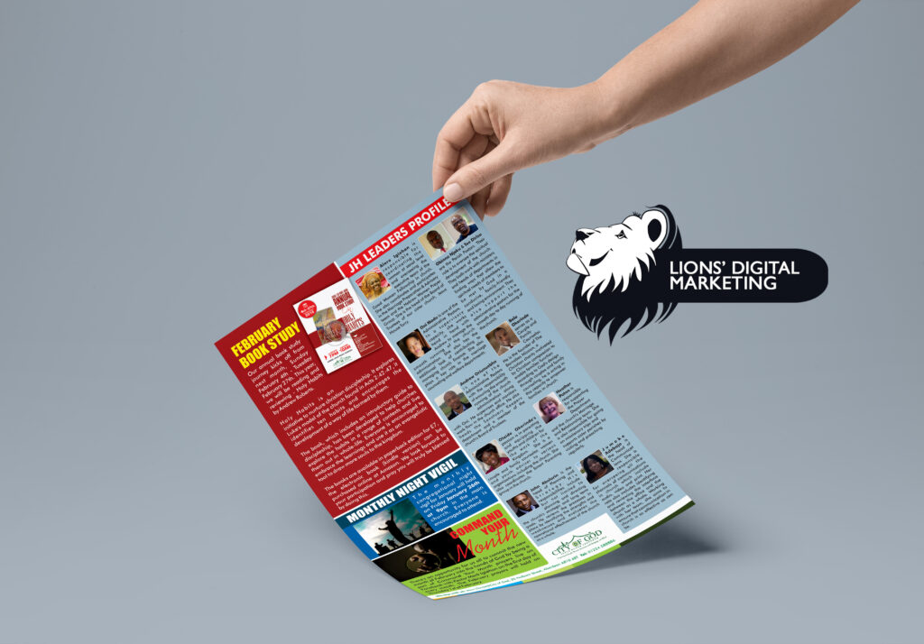 Bulletin Design Aberdeen for COG