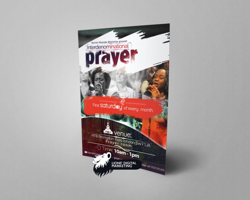 Int Prayer flyer For City of God