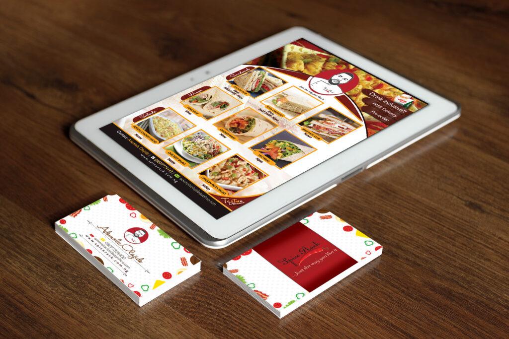 Spice rack brand design and print Aberdeen
