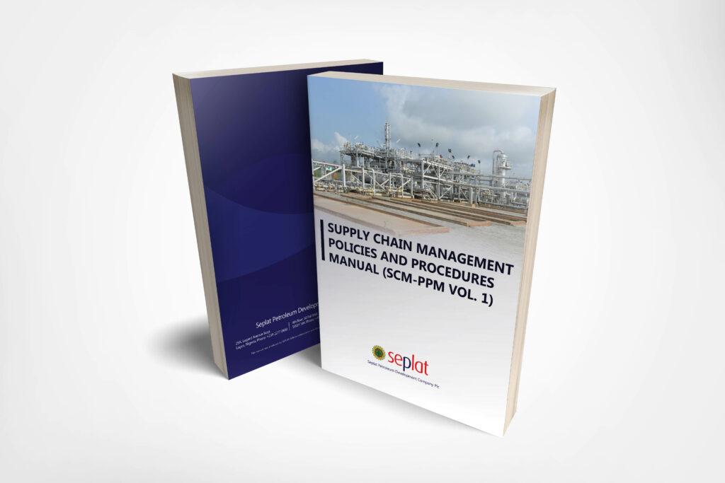Seplat manual book graphic design and printing