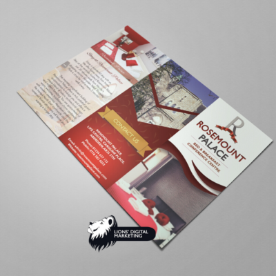 Brochure graphic design and print for RP