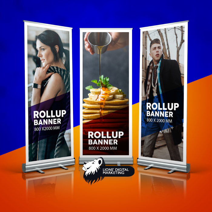 Roll up banner printing services