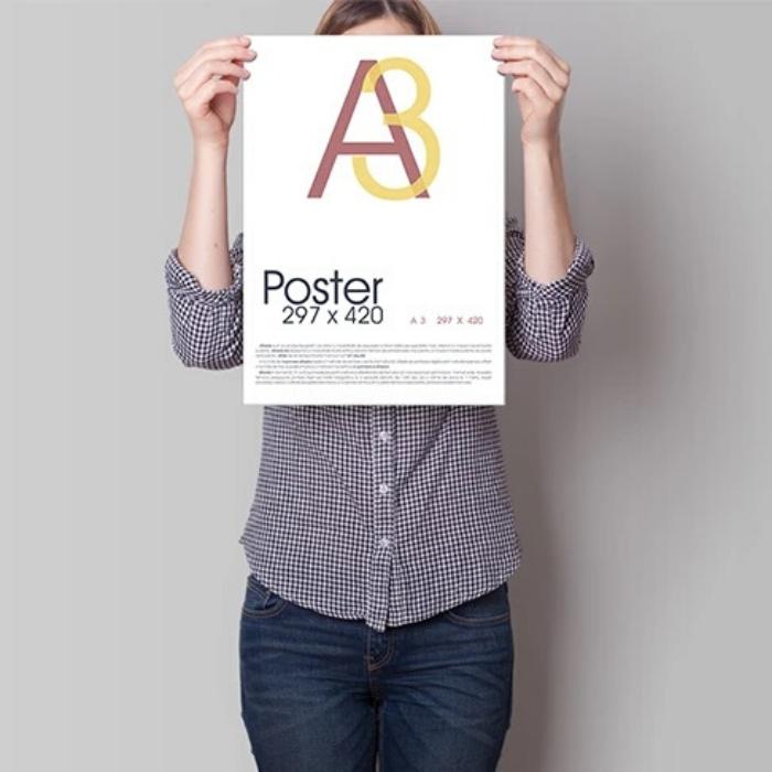 A3 poster print Glasgow
