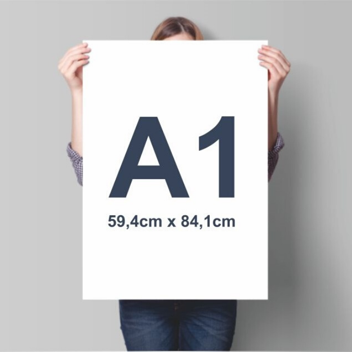 A1 poster print Edinbrgh. Glasgow